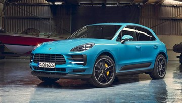 Porsche Macan 2019 trình làng với thiết kế cải tiến, trang bị tốt hơn