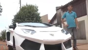 Người đàn ông chế Fiat Uno thành siêu xe Lamborghini Aventador chỉ với 800 đô la