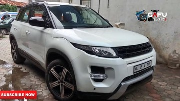 """""""Dân chơi"""" Ấn Độ bỏ hơn 200 triệu độ xe thành Range Rover Evoque"""