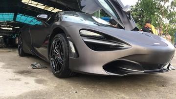 """Siêu xe McLaren 720S đầu tiên về Việt Nam thay áo """"Batman"""" cực chất"""