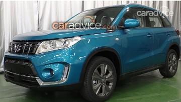 Suzuki Vitara 2019 lộ diện với thiết kế mới, ra mắt vào tháng 9 tới