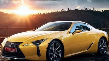 """Lexus """"nhá hàng"""" phiên bản đặc biệt LC Yellow Edition trước khi ra mắt ở Paris"""