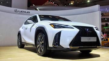 Crossover hạng sang Lexus UX 2019 lần đầu tiên đến Đông Nam Á