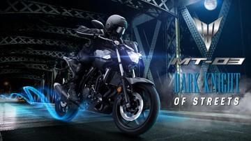 Yamaha MT-03: Giá xe MT-03 mới nhất tháng 07/2019