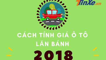 Infographic: Cách tính giá lăn bánh cho ô tô mới nhất 2019