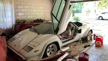 Siêu xe hàng hiếm Lamborghini Countach bị chủ bỏ rơi 2 thập kỷ
