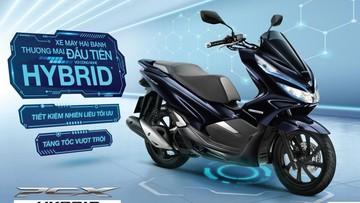 "Xe ga ""lai"" Honda PCX HYBRID bất ngờ ra mắt tại Việt Nam"