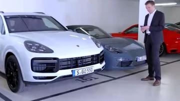 Porsche khoe công nghệ đỗ xe điều khiển từ xa của Cayenne 2019