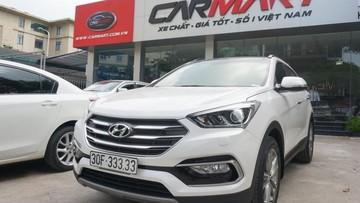 """Lý do chiếc Hyundai Santa Fe 2018 biển """"ngũ quý 3"""" có giá lên tới 2,45 tỉ đồng"""