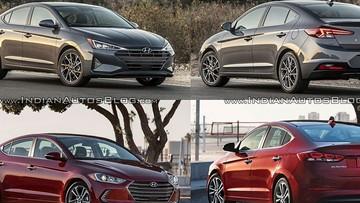 """So sánh thiết kế của Hyundai Elantra 2019 với phiên bản cũ để thấy sự """"lột xác"""""""