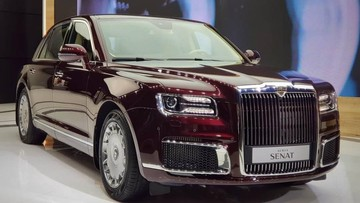 """Cận cảnh Aurus Senat - """"Rolls-Royce của người Nga"""" - ngoài đời thực"""
