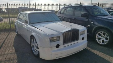 Chiếc Rolls-Royce Phantom tự chế này có thể đánh lừa không ít người