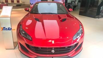 Đánh giá nhanh siêu xe mui trần Ferrari Portofino giá hơn 14 tỷ đồng tại Singapore