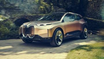 BMW Vision iNext - SUV chạy điện có kích thước như X5 - được vén màn