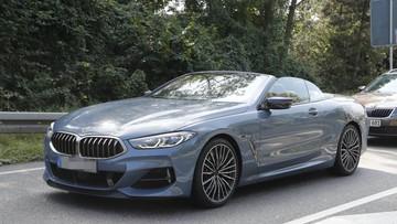 BMW 8-Series Convertible 2019 bị bắt gặp chạy trên đường phố