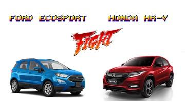 """""""Lên sàn"""" với giá 786 triệu đồng, lợi thế nào cho Honda HR-V khi đấu cùng Ford EcoSport?"""