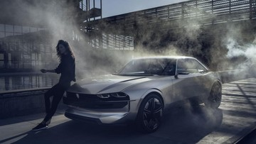 Peugeot e-Legend - bản tuyên ngôn về công nghệ với 16 màn hình trong nội thất