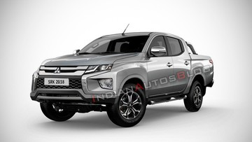 Mitsubishi Triton 2019 sẽ có thiết kế như thế này?