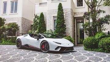 Siêu xe mui trần Lamborghini Huracan Performante có giá khởi điểm hơn 16 tỷ đồng tại Hồng Kông
