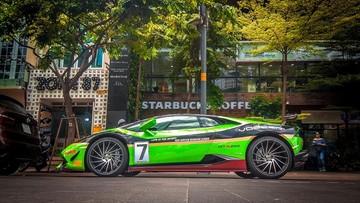 Siêu xe Lamborghini Huracan độ độc nhất Việt Nam thay áo theo xe đua GT3 EVO