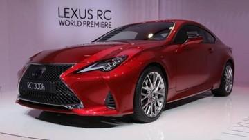 Lexus RC 2019 mang khuôn mặt tươi mới tới Triển lãm Ô tô Paris