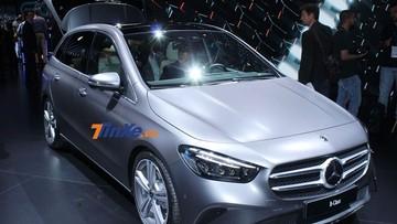 Cảm nhận nhanh Mercedes-Benz B-Class 2019: Kích thước lớn hơn, nội thất sang trọng và thực dụng