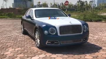 Bentley Mulsanne thế hệ mới màu cực độc của giới nhà giàu Việt