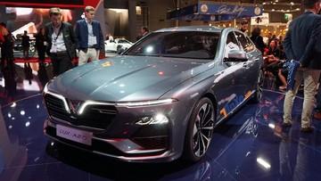 Chiêm ngưỡng vẻ đẹp xuất sắc của mẫu sedan VinFast LUX A2.0 tại triển lãm ô tô Paris 2018