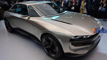 Peugeot e-Legend - Mẫu xe có 16 màn hình, thiết kế hoài cổ nổi bật ở triển lãm Paris 2018