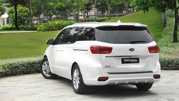 Kia Sedona 2018 chính thức ra mắt Việt Nam với 3 phiên bản, giá từ 1,129 tỷ đồng