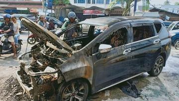 Mitsubishi Xpander mới chạy 1.000 km đã bốc cháy khiến cư dân mạng hoang mang