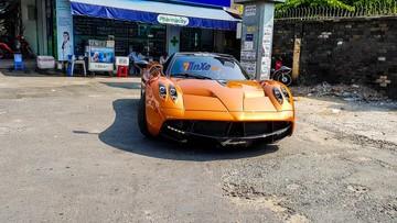 Xem lại những hình ảnh nóng hổi về siêu phẩm Pagani Huayra hơn 80 tỷ đồng đi xét xe