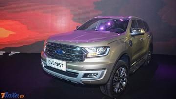 Ford Everest 2018 mới tháng đầu đã đạt doanh số 541 xe, đe dọa Toyota Fortuner