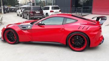 Sau Lamborghini Aventador, doanh nhân Vũng Tàu lại độ siêu xe Ferrari F12 Berlinetta