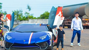 """Ngắm lại vẻ đẹp của siêu xe hàng hiếm Lamborghini Aventador SV sắp được Minh """"Nhựa"""" rao bán"""