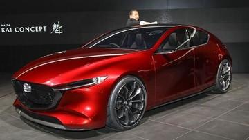 Mazda3 thế hệ mới lần đầu tiên lộ diện, thiết kế giống Kai Concept