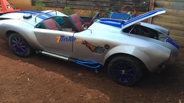 Shelby Cobra 427 tự chế của bạn trẻ Đắk Mil tái xuất qua bộ áo mới