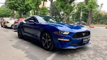 Cận cảnh vẻ đẹp Ford Mustang đời 2018 màu xanh độc nhất Việt Nam, giá hơn 2,7 tỷ đồng