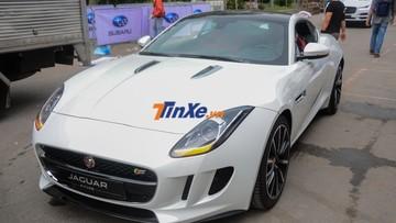 """""""Báo trắng"""" Jaguar F-Type S sẵn sàng khuấy động tại triển lãm VMS 2018"""