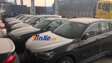 133 xe sang BMW nhập lậu của Euro Auto nằm phủ bụi tại cảng Sài Gòn