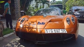 """Sau khi đăng kiểm biển số cho Pagani Huayra, Minh """"Nhựa"""" tuyên bố không chơi siêu xe"""