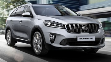 SUV cỡ trung Kia Sorento 2019 cập bến Đông Nam Á với hộp số tự động 8 cấp mới