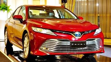 Toyota Camry 2018 chính thức ra mắt Thái Lan với giá từ 1,01 tỷ đồng