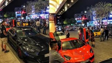 Hàng chục siêu xe và xe độ đình đám tại Sài thành tụ tập trong đám cưới của biker nổi tiếng nhất Việt Nam