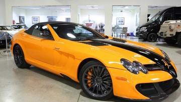 Hàng hiếm Mercedes-Benz SLR McLaren Edition Roadster đã qua sử dụng rao bán với giá hơn 1 triệu đô