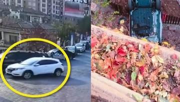 Ô tô rơi xuống đất từ độ cao 10 m, một phụ nữ tử vong
