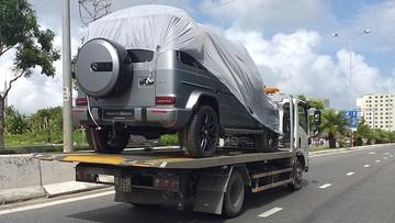 """Mercedes-AMG G63 2019 mà Minh """"Nhựa"""" tiết lộ đặt hàng đã xuất hiện chiếc đầu tiên Việt Nam"""