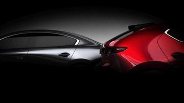 Mazda3 2019 lộ ảnh cả bản sedan và hatchback, sẽ ra mắt ở triển lãm Los Angeles 2018