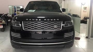 SUV hạng sang Range Rover Autobiography phiên bản xe xanh thứ 2 về Việt Nam