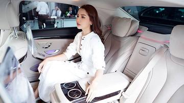 Nữ ca sĩ Bích Phương tậu xe sang Mercedes-Benz S450L 2018 hơn 4 tỷ đồng